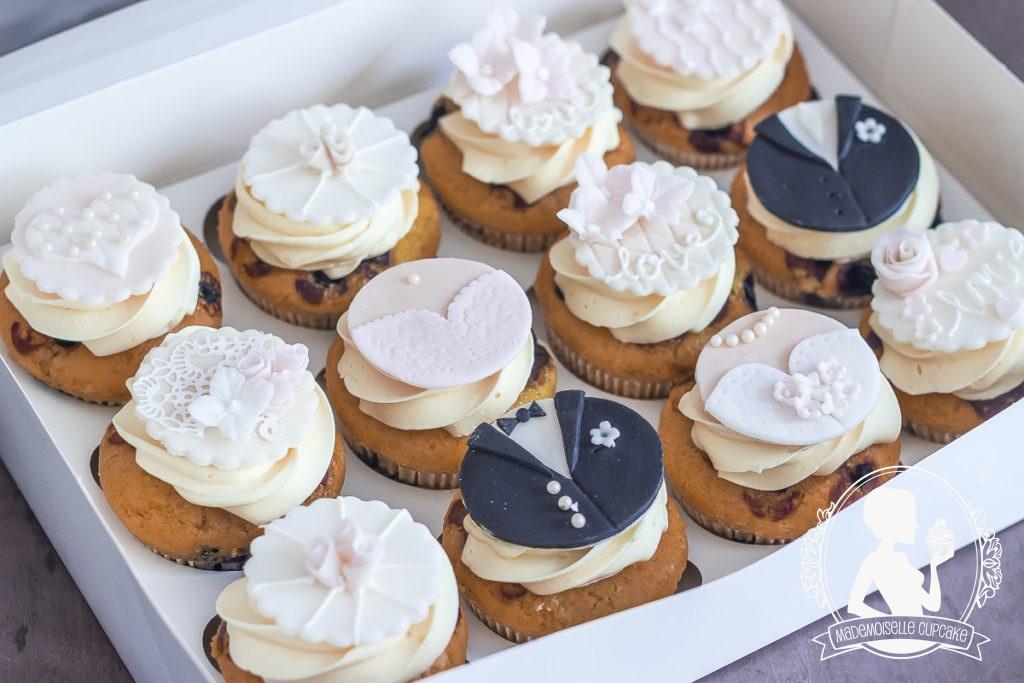 Cupcake Dekoration Hochzeit Mademoiselle Cupcake Webshop
