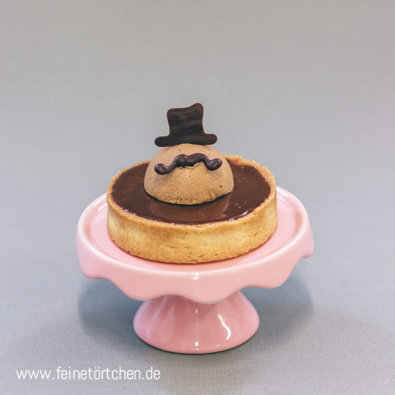 Tartelette Schokolade Ganache Brombeere Mürbeteig Mademoiselle Cupcake Magdeburg