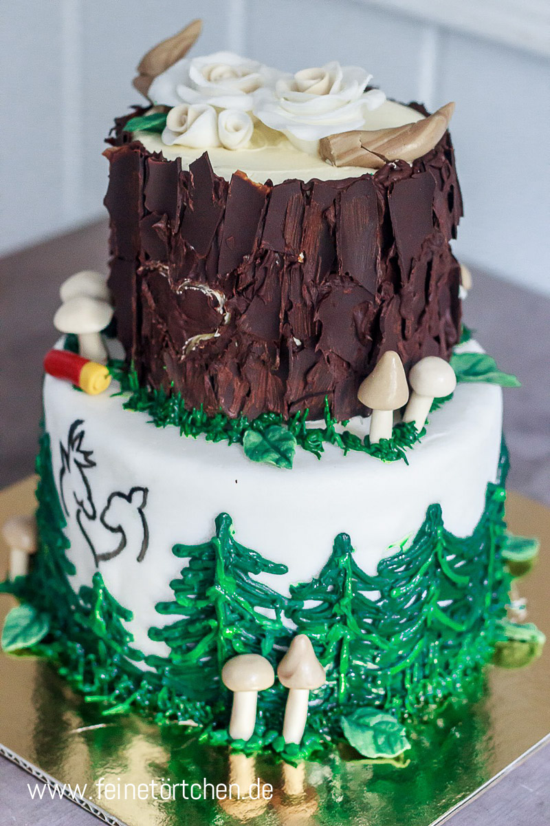 Wald Torte Mademoiselle Cupcake Webshop