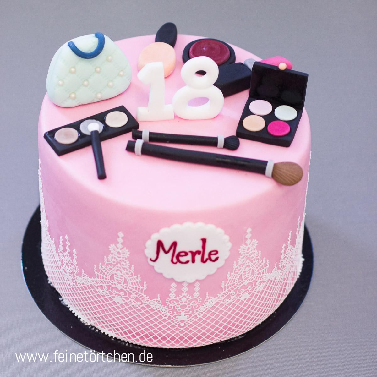 Make Up Torte Mademoiselle Cupcake Webshop