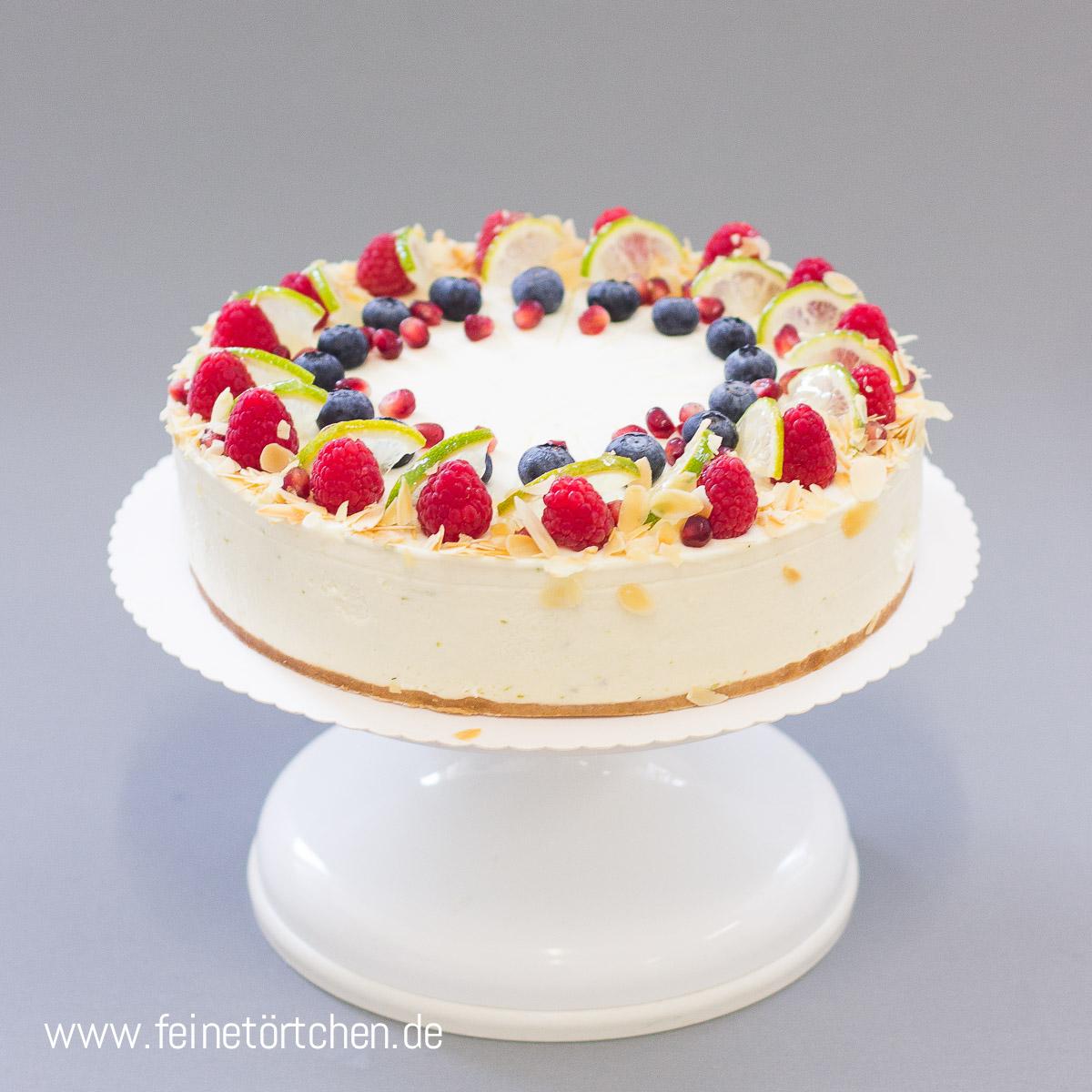 Holunder Limette Quark Mademoiselle Cupcake Webshop