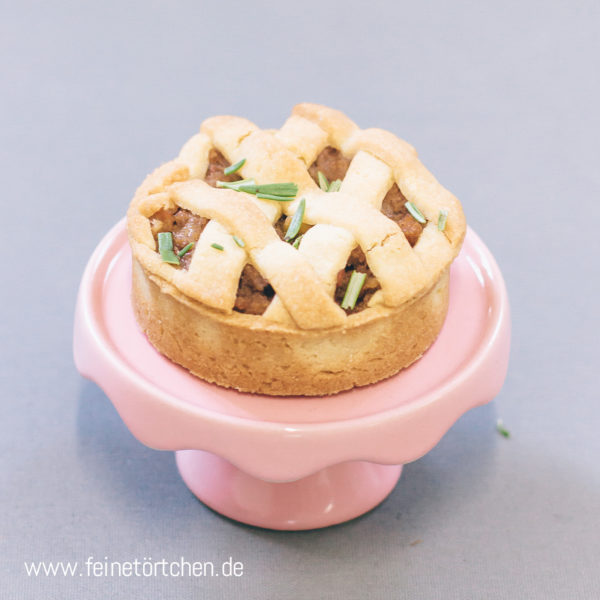 Lady Pie Apfel Tartelette Apple Pie Walnuss Mademoiselle Cupcake Magdeburg