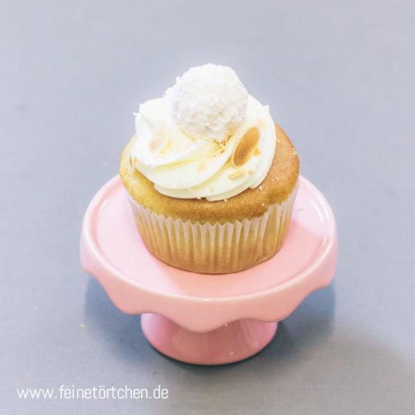 Raffaello Cupcake Kokos Mandel Mademoiselle Cupcake Magdeburg Feinetörtchen