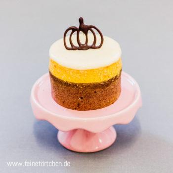 Kürbis Feige Sahne Mousse Törtchen Mademoiselle Cupcake Magdeburg Cafe