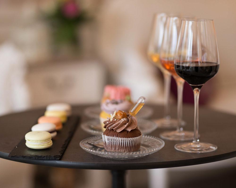 Wein & Cupcake Tasting Magdeburg Mademoiselle Cupcake Weinstein