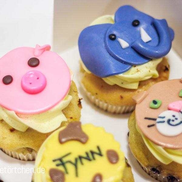 Cupcake Dekoration Tiere Zoo Mademoiselle Cupcake