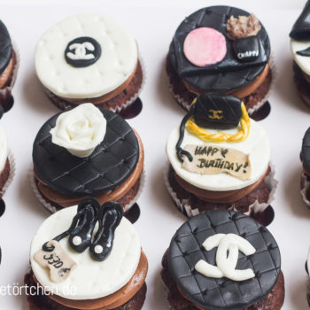 Cupcake Dekoration Make Up Mode Mademoiselle Cupcake