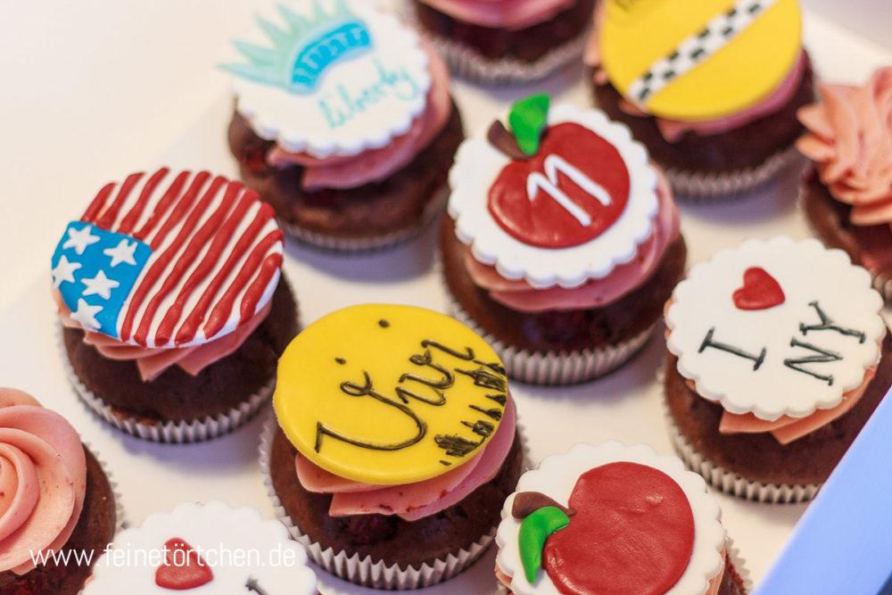 New York Fondant Dekoration Mademoiselle Cupcake