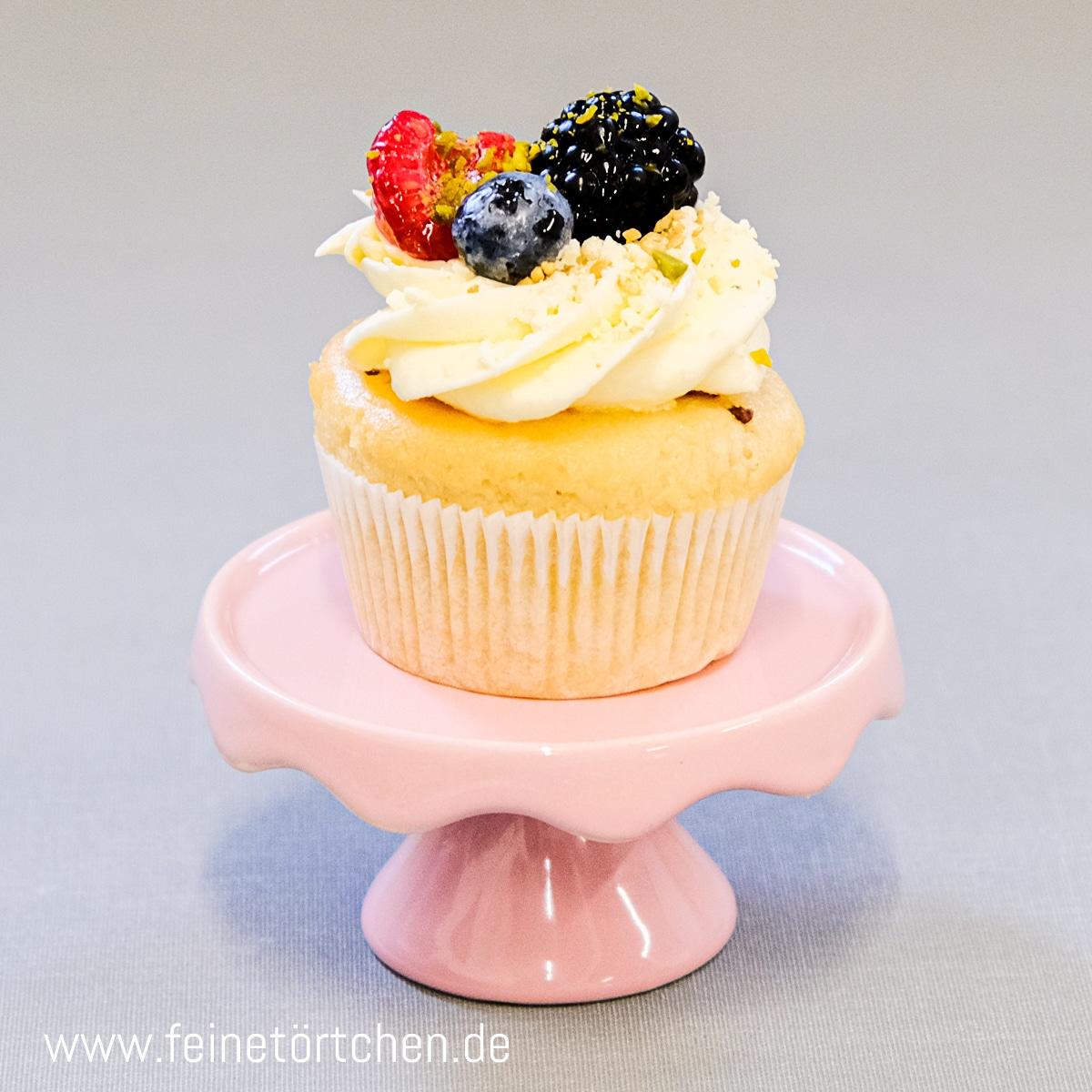 Fruchtige Wilma Waldfrucht Joghurt Cupcake Mademoiselle Cupcake