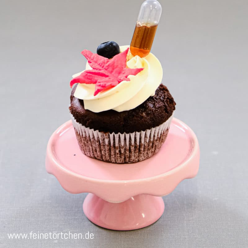 Michael Blueberry Schoko Blaubeer Ahornsirup Cupcake Mademoiselle Cupcake