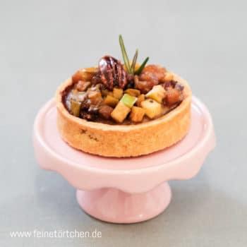 Lady Pie Apfel Tartelette Apple Pie Pekannuss Mademoiselle Cupcake Magdeburg